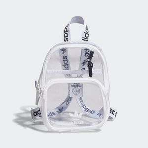 Adidas Mini Clear Backpack - NWT